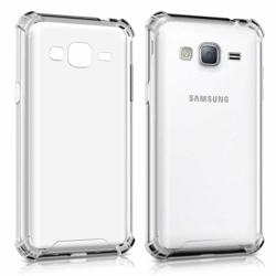 Imagem de Capa para Galaxy J7 de TPU Anti Shock - Transparente