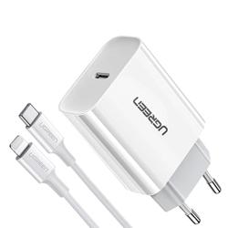 Imagem de Carregador USB-C de 20W para iPhone Lightning- Ugreen