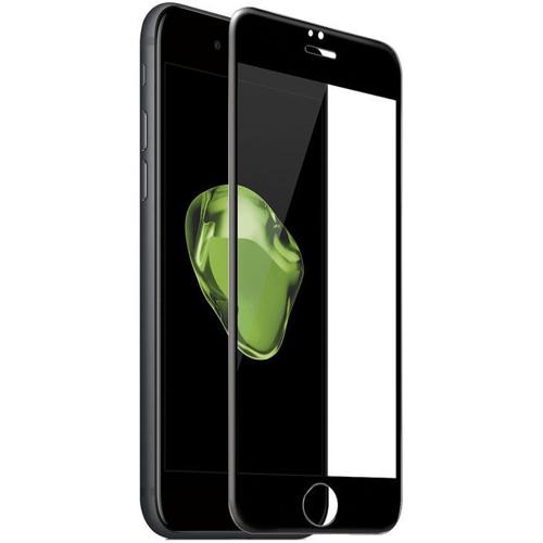 Imagem de Película para iPhone 6, 7 e 8 de vidro 6D Com Borda Preta