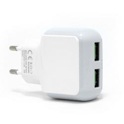 Imagem de Carregador de parede com 2 entradas USB 3.1A - Hmaston