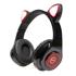 Imagem de Fone de ouvido Bluetooth com Orelhas de Gato LED - Briwax | MX-6810