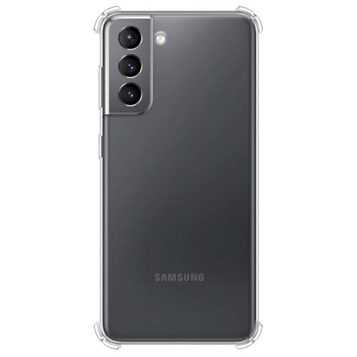 Imagem de Capa para Galaxy S21 de TPU Anti Shock - Transparente