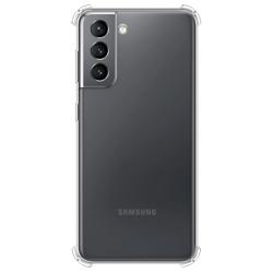 Imagem de Capa para Galaxy S21 Plus de TPU Anti Shock - Transparente