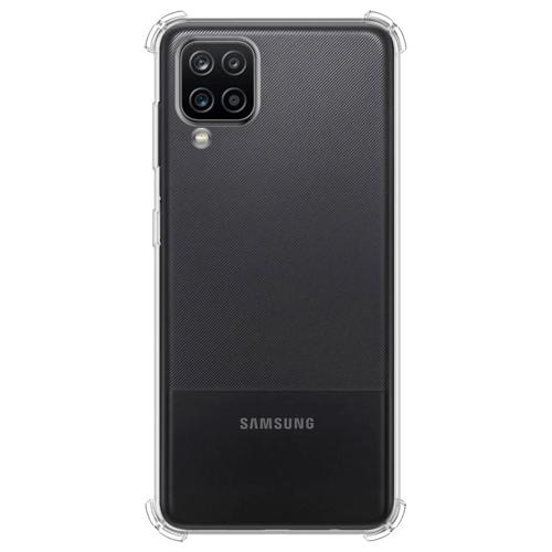 Imagem de Capa para Galaxy A12 de TPU Anti Shock - Transparente