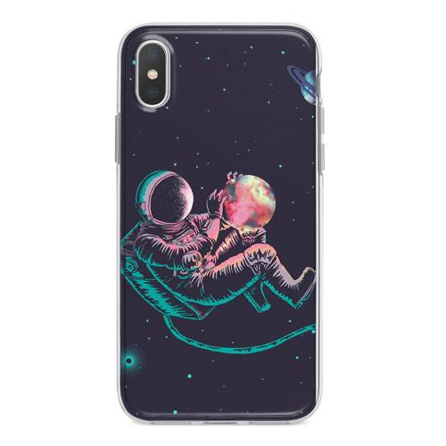 Imagem de Capa para celular - Astronauta em Órbita