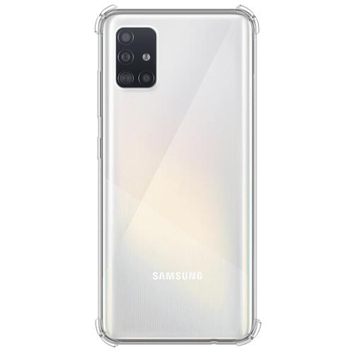 Imagem de Capa para Galaxy M51 de TPU Anti Shock - Transparente