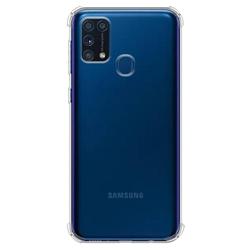 Imagem de Capa para Galaxy M21 de TPU Anti Shock - Transparente