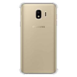 Imagem de Capa para Galaxy J4 de TPU  Anti Shock - Transparente
