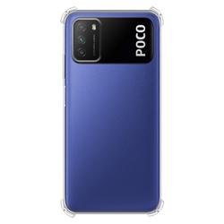 Imagem de Capa para Xiaomi Poco M3 de TPU Anti Shock - Transparente